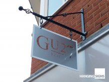 GU27 hanging sign