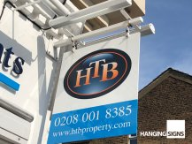HTB swing sign