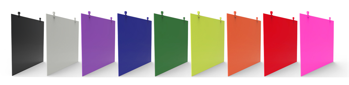 painted flat panel hanging sign board colours