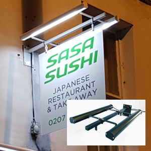 shop sign LED lighting system